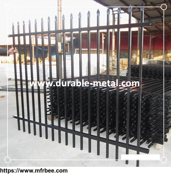 Powder Coated Oramental Steel Fence