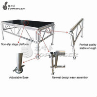 more images of Aluminum Portable Non Slip Stage Entertainment Stages Portable Deck