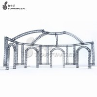 Game use Aluminum truss system ninja truss systems whole project 300mmx1m
