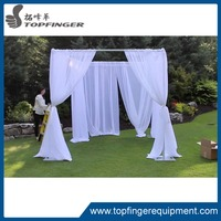 Square pipe and drape system 3mx3m portable backdrop kit setup draping on stand