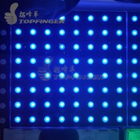 High Quality 500*500*100mm Video Acrylic Glass Digital LED Dance Floor For Sale