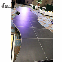 Mini Portable Festival Music Moving Indoor Catwalk Runway Modular Movable Stage Platform System