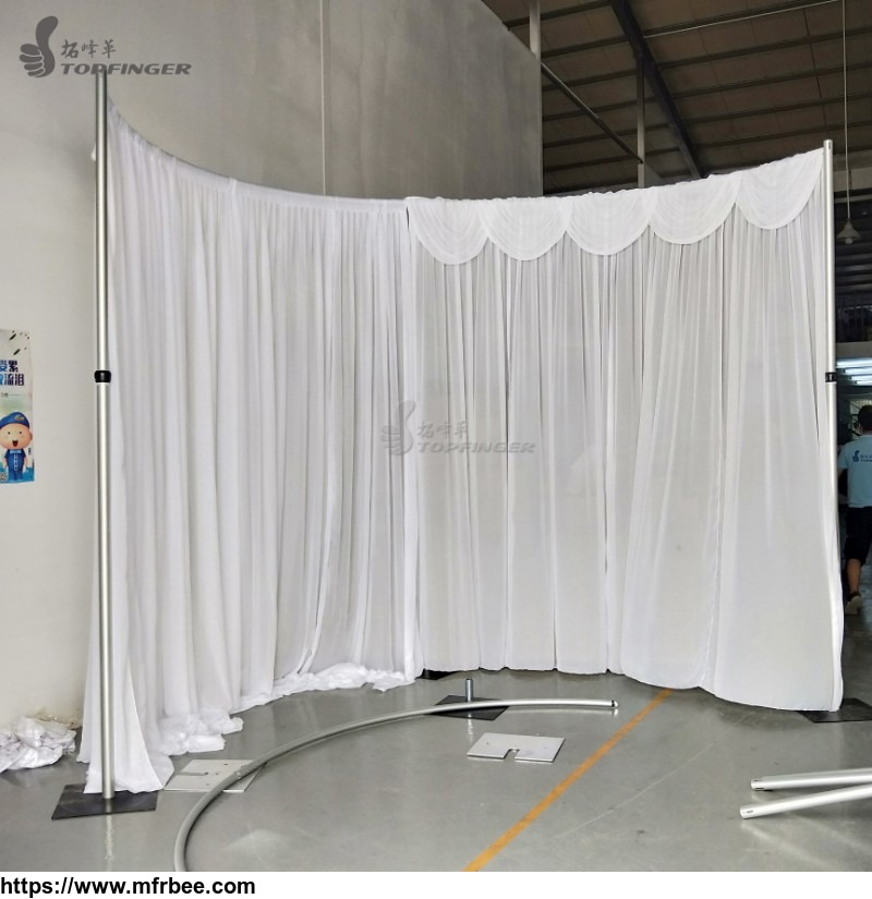 Chiffon Ceiling Draping Pole Use Kits Use Chiffon Fabric Pipe And Drape Wedding Backdrop