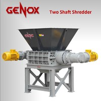 Two-axis shredder M800 tw/paper shredder/plastic shredder/wood shredder