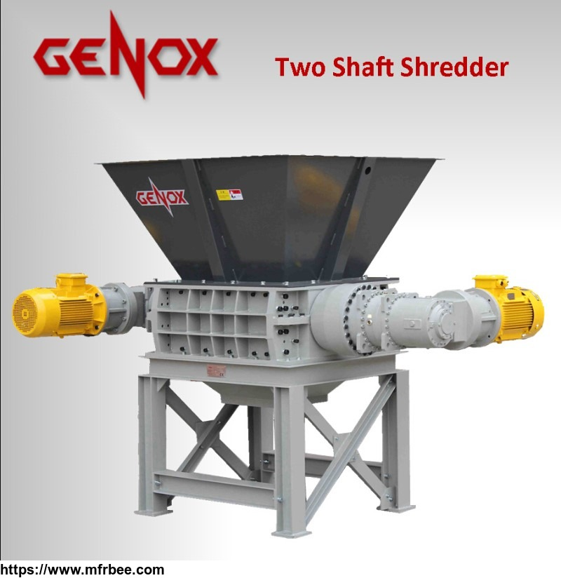 two_axis_shredder_m800_tw_paper_shredder_plastic_shredder_wood_shredder