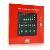 8 zone fire alarm control panel for fire fighting