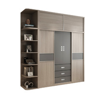 hot saling simple design modern wardrobe storage