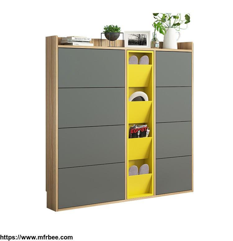 2018_hot_saling_modern_simple_design_shoe_cabinets