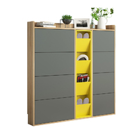 2018 hot saling modern simple design shoe cabinets