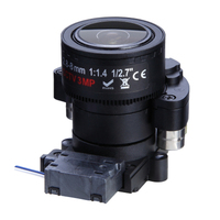 small size near-infrared motorized zoom CCTV lens